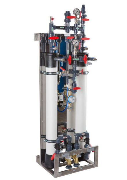 система ультрафільтрації води