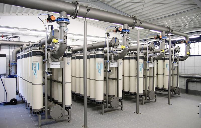 система Ультрафильтрация воды